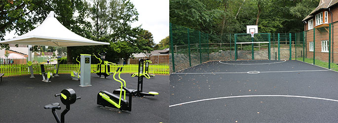 Howe Outdoor Gym and Games Area